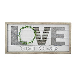 Love Forever and Always Shadowbox