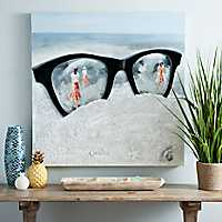 Sunglasses Canvas Art Print