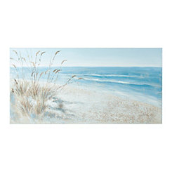 Sparkle Coastline Canvas Art Print