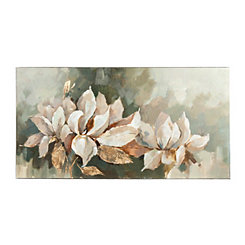 Magnolia In Bloom Canvas Art