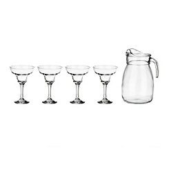 Palma Glass 5-pc. Margarita Set