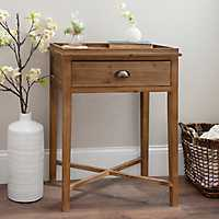 Stained Louise Accent Table