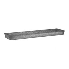 Simple Galvanized Metal Tray