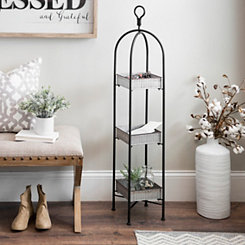 3-Tier Metal Tray Stand