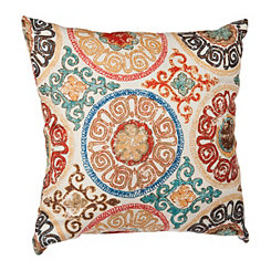 Nikki Medallion Printed Pillow