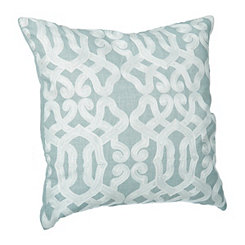 Aqua Gate Linen Finish Pillow