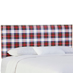 Stewart Dress Nail Button Border Full Headboard