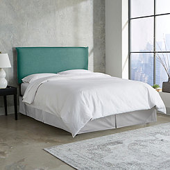 Laguna Linen French Seam King Headboard