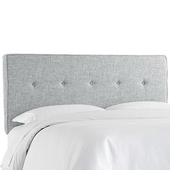 Zuma Pumice Five Button Queen Headboard