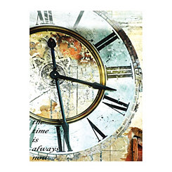 Clocktower Canvas Art Print