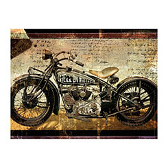 Hell On Wheels Canvas Art Print