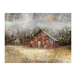 Barnscape Canvas Art Print
