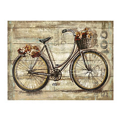 Wheels Canvas Art Print