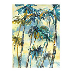 Dancing Palms Canvas Art Print