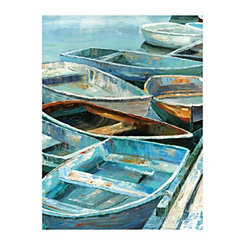 Rowing I Canvas Art Print