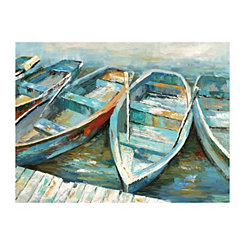 Rowing II Canvas Art Print