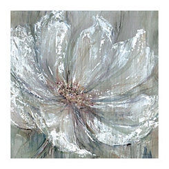 Celadon Splash Gray Canvas Art Print