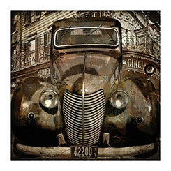 Old New York Canvas Art Print
