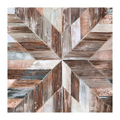Gallery Barnwood Copper Canvas Art Print