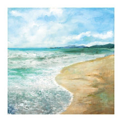 Silent Shore Canvas Art Print