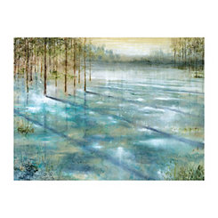 Water Trees Canvas Art Print