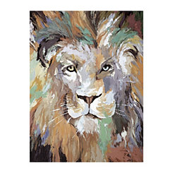 Soft Safari III Canvas Art Print