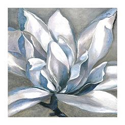 Essence Blue Square Canvas Art Print