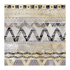 Tribal Weave Canvas Art Print
