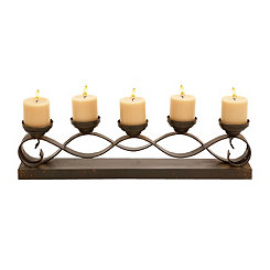 Bronze Wave Candle Runner