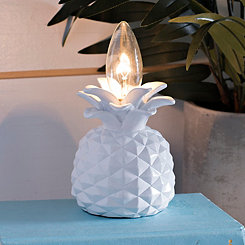 White Pineapple Night Light