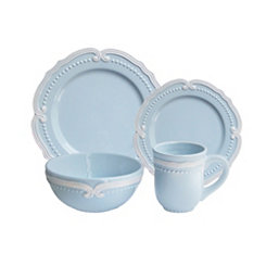 Victoria Blue 16-pc. Dinnerware Set