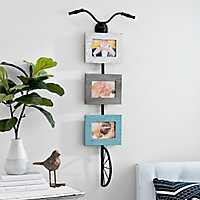 Hanging Bicycle Collage Frame