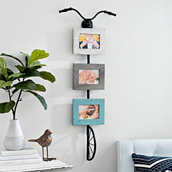 Hanging Bicycle Collage Frame