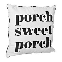Porch Sweet Porch Outdoor Pillow