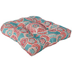 Aqua Spice Suzani Outdoor Cushions, Set of 2