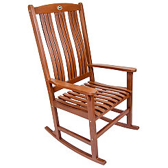 Natural Wooden Rocker