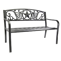 Lone Star Garden Bench