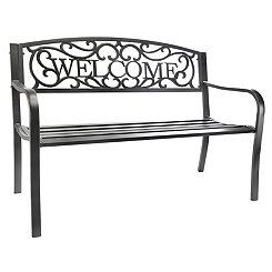 Welcome Garden Bench