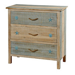Coastal 3-Drawer Chest