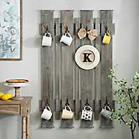 Barnwood Fence Wall Hook