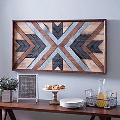 Rustic X Wall Plaque