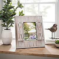Barnwood Shutters Picture Frame, 5x7