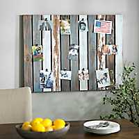 Distressed Pallet Clip Collage Frame