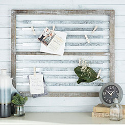 Galvanized Metal Strip Clip Collage Frame