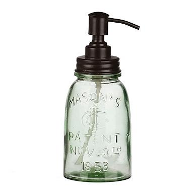 recycled glass soap pump. Interior Design Ideas. Home Design Ideas