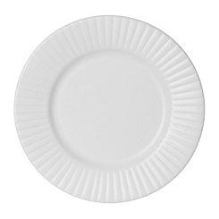 White Caserta Salad Plate