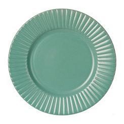 Turquoise Caserta Salad Plate