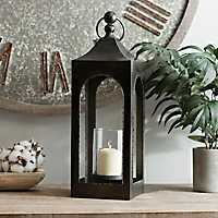 Open Sided Zinc Lantern