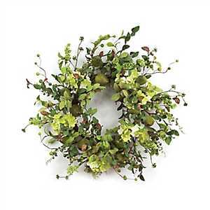 Green Pear Mix Wreath