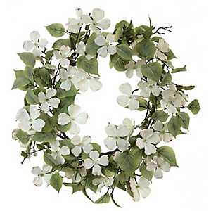 Dogwood Wreath, 26 in.